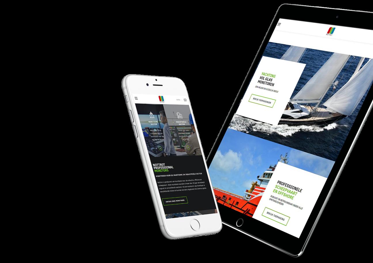 Website ontwikkeling voor Nottrot uit Oosterhout!